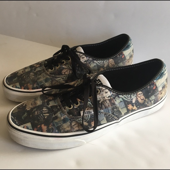 9ac371facdfea4 Men s Vans x Star Wars 11 Shoes Collage Sneakers. M 5b625523d365bea380d87902